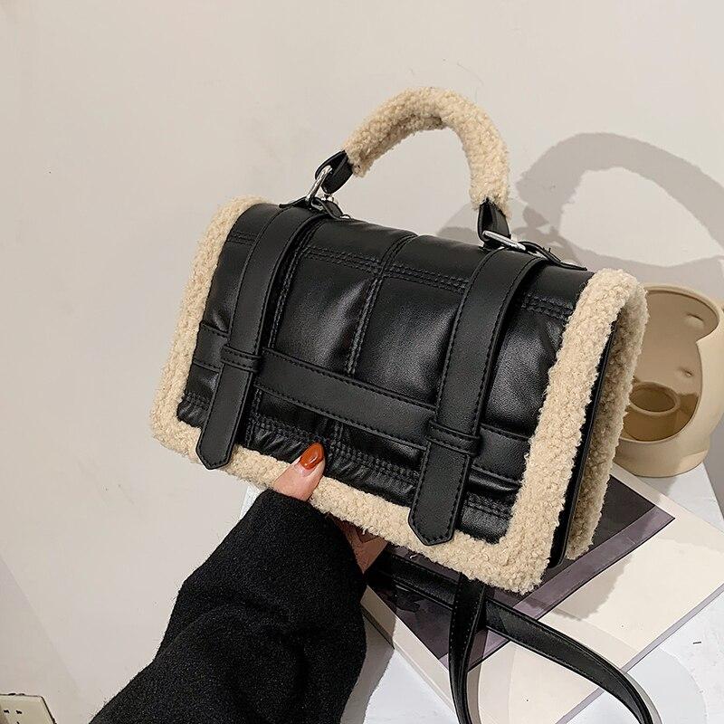 с доставкой Vintage Bags Retro PU Leather Crossbody Bags for Women 2021 Trending Shoulder Bag Luxury Small Handbags and Purses