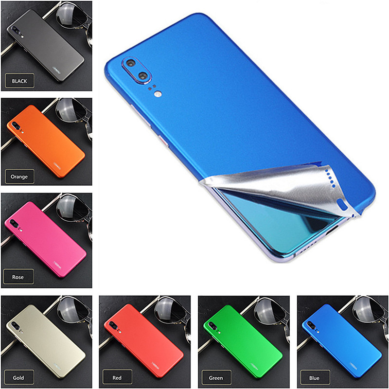 Ultra Thin Phone Case For <font><b>Huawei</b></font> <font><b>P20</b></font> <font><b>Pro</b></font> Ice Film Phone Skin For <font><b>Huawei</b></font> Mate20 <font><b>Smartphone</b></font> Sticker For Honor V9 V10 Back Protect image