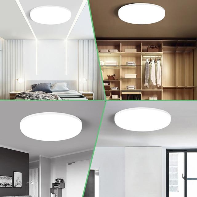 CY Modern Led Ceiling Lights for Living Room Bedroom Light Fixture for Ceiling Lamps Indoor Lighting Buy 2pcs  get 1pcs 15W free|Ceiling Lights|   -