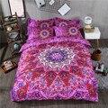 Комплект постельного белья с рисунком мандалы  постельное белье с цветочным узором «пейсли»  двуспальный пододеяльник  3 шт.