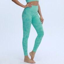 Nepoagym Women New Colors Camo Seamless Leggings High Waist Booty Scrunch Leggings Compression Yoga Pants