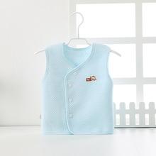 Жилет для малышей; хлопковый детский жилет для мальчиков и девочек; Одежда для новорожденных; маленький жилет; с фабрики