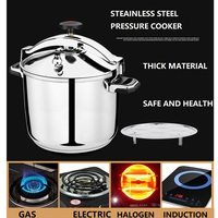 3 30 litre Commercial Inox Pressure Cooker #304 stainless steel Cooking Pressure Cooker Large Hotal Induction cooker