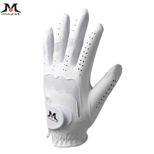 Перчатки для гольфа из мягкой дышащей микрофибры для левой руки, мягкие дышащие перчатки черного цвета