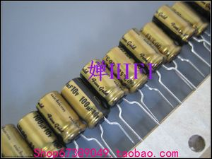 Image 1 - 20PCS NICHICON FG 10V100UF 6.3x11MM fine gold 100UF 10V FineGold MUSE Audio Capacitor 100uf10v 10V/100UF