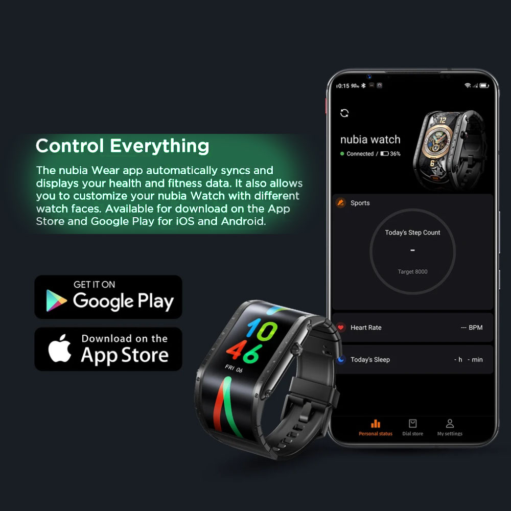 """Глобальная версия оригинальный Nubia Смарт-часы телефон 4,01 """"AMOLED Складная Snapdragon 8909W Bluetooth сотовый телефон Nubia часы-3"""