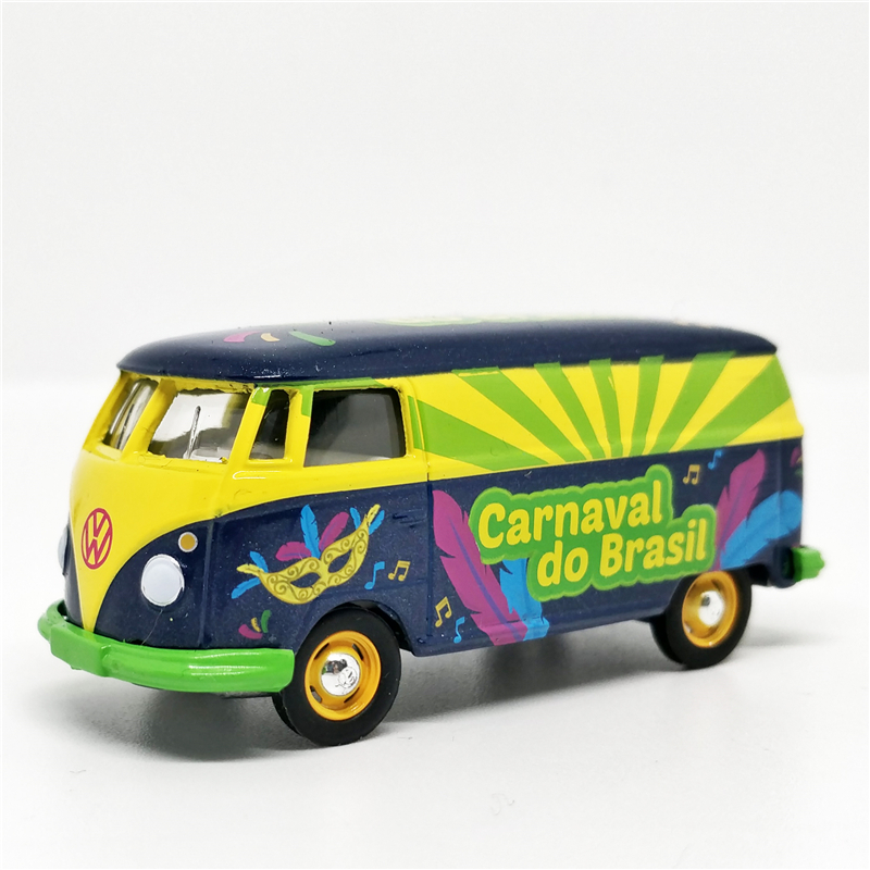 Greenlight 1:64 VW Type 2 (T2) Van Carnaval Do Brasil No Box