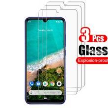 3Pcs For Xiaomi Mi A3 MiA3 Tempered Glass Screen Protector S