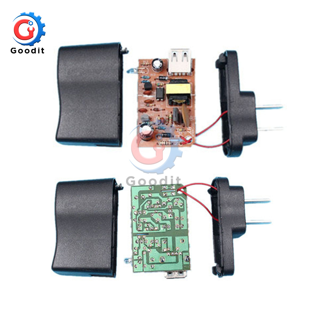 US Plug <font><b>Adapter</b></font> AC-DC <font><b>220V</b></font> <font><b>to</b></font> <font><b>5V</b></font> 800mA lighting transformers Power Supply <font><b>Adapter</b></font> Converter Charger For LED Strip light DIY Kit image
