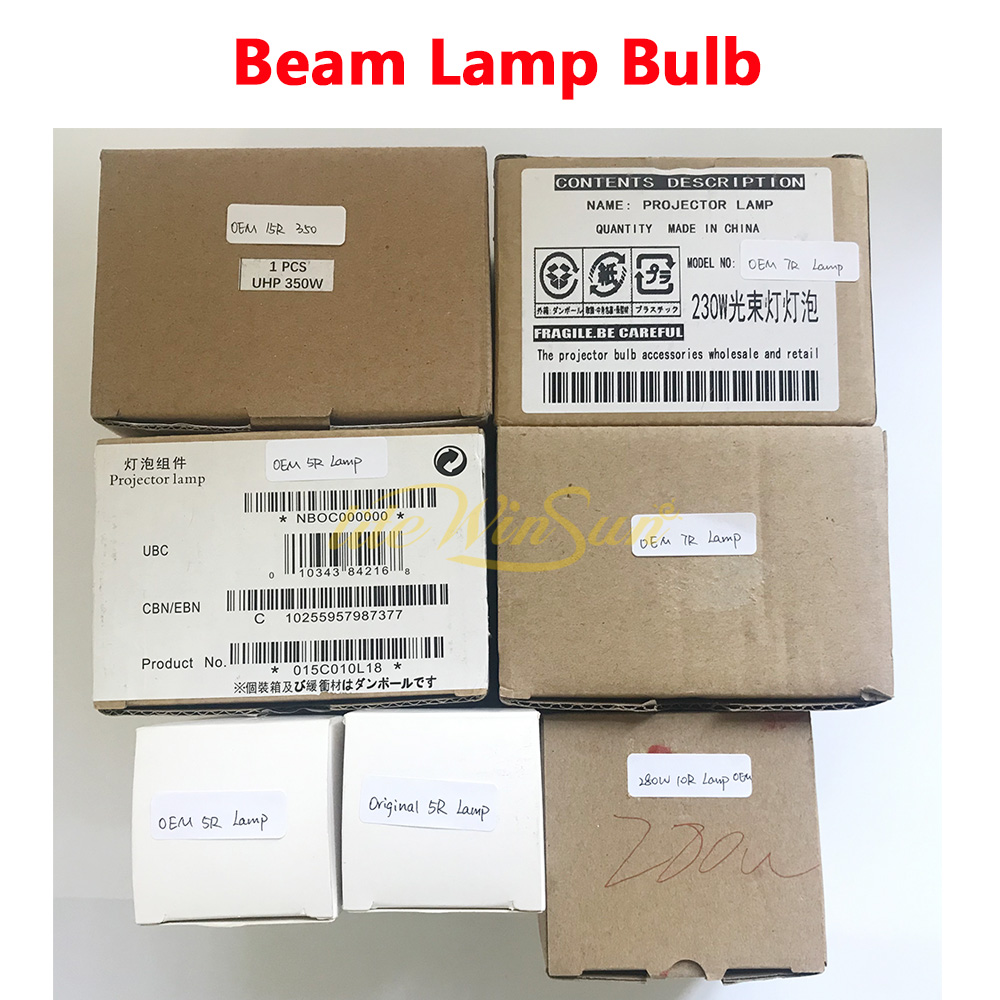 Clearance 5R 7R 10R 15R 17R Sharp Beam Spot Moving Head Lighting Lamp Source Lamp Bulb|Stage Lighting Effect| |  - title=