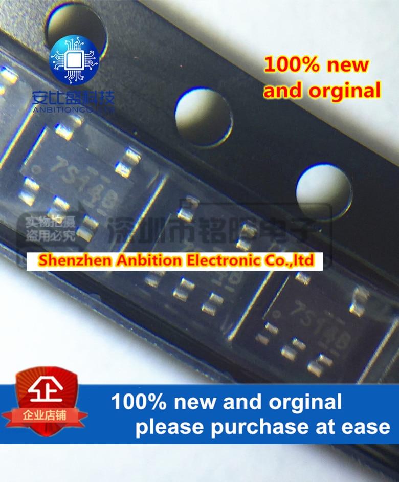 10pcs 100% New And Orginal NC7S14M5X Silk-screen 7S14 SOT23-5 SOT-153 In Stock