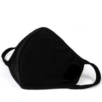 PM2.5 Mouth Mask Unisex Anti Dust Cotton Mask Windproof Mouth Mask Bacteria Proof Flu Keep Warm Face Masks Care Black