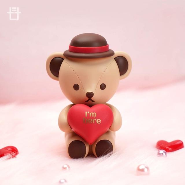 New Teddy bear Wireless Bluetooth speaker Treasure edition lovely cartoon bear Music player Valentine's Day Gift for girl