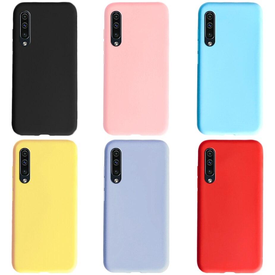 Coque de téléphone pour Samsung Galaxy A50 A 50 Coque souple en Silicone TPU Funda pour Samsung A50 A505F A505 Coque arrière complète Capa