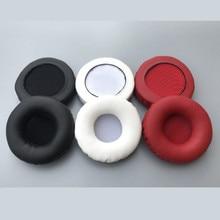 Wysokie elastyczne gąbki wymienne nauszniki do audio technica AKG SJ33 SJ55 WS33x ES10 słuchawki nauszniki miękkie skórzane nauszniki Ew #