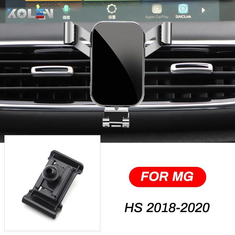 Купить автомобильный мобильный телефон держатель для mg hs 2018 2019