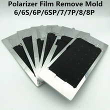LCD סרט מקטב להסיר עובש עבור 6/6S/6P/6SP/7/7P/8/8P LCD תצוגת חימום ספיחה מקטב סרט הסרת תיקון