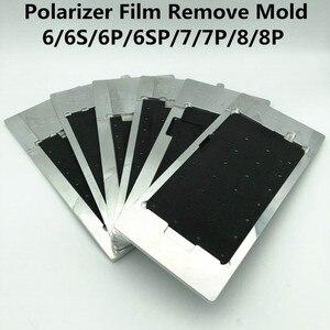 Image 1 - Película polarizadora LCD para reparación de eliminación de película, molde para 6/6S/6P/6SP/7/7P/8/8P, pantalla LCD de calentamiento, adsorción, polarizador