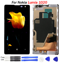 цены на Original For Nokia Lumia 1020 LCD display screen Replacement For NOKIA 1020 Display lcd screen module wholesale mobile lcd parts  в интернет-магазинах