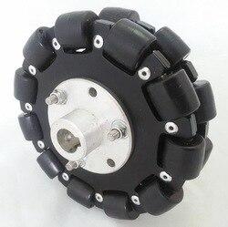 Maker 5 Inch 127mm Robot Platform Chassis Omnidirectional Wheel Mecanum Wheel All Metal Universal Wheel