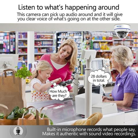 indoor ip camera video ntework vigilancia onvif para kit sistema nvr