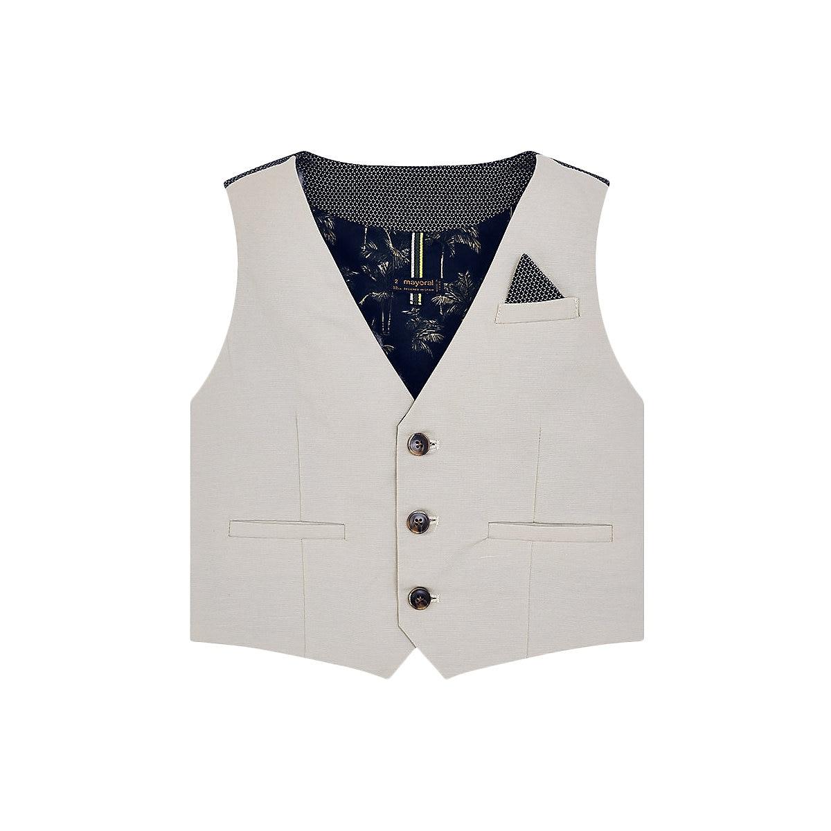 цена на MAYORAL Vests & Waistcoats 10681361 jacket Cotton Grey Boys Casual