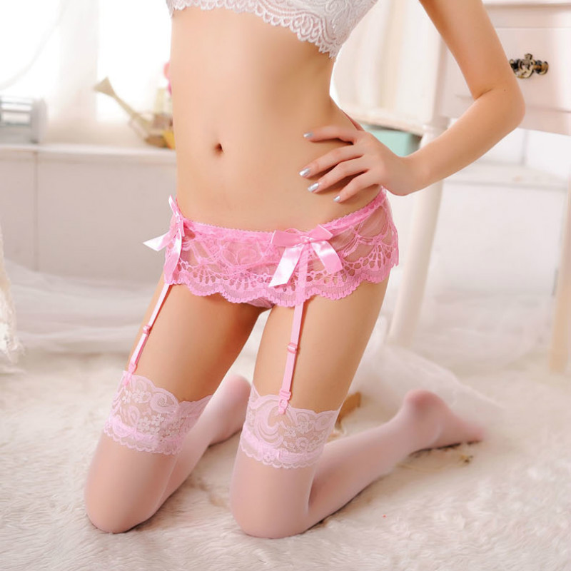 Image 5 - Lace Sexy Stockings Women Pantyhose Temptation Floral thigh high stockings Lingerie Suspenders Womens Stockings Sexy TightsStockings   -