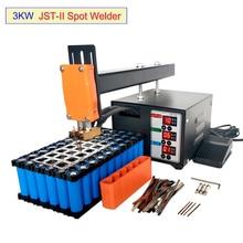JST-II Spot Welder 3KW High-power Battery Spot Welding Is For18650 Battery Pack Nickel Strip Welding Precision Mini Pulse Welder
