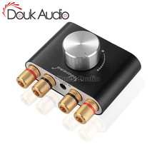 Douk Audio MINI Bluetooth 5.0 เครื่องขยายเสียงดิจิตอล NS 01G Hi Fi สเตอริโอ Home Audio TPA3116 เครื่องขยายเสียง 100W
