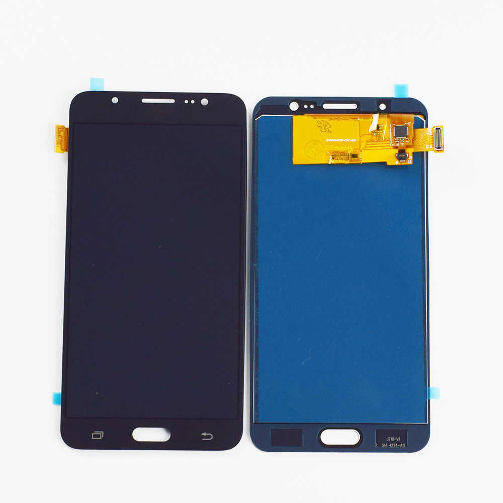 สำหรับ Samsung Galaxy J7 2016 J710 J710F J710M J710H J710FN จอแสดงผล LCD แบบเต็ม + หน้าจอสัมผัส Digitizer Sensor assembly