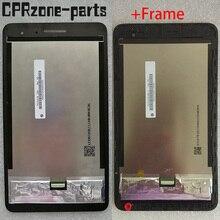 Çerçeve ile orijinal lcd Huawei onur Mediapad T1 7.0 T1 701 T1 701U T1 701U LCD ekran dokunmatik ekran digitizer ile montaj