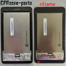 オリジナルlcdフレームとhuawei社の名誉mediapad T1 7.0 T1 701 T1 701U T1 701U液晶ディスプレイタッチスクリーンデジタイザアセンブリ