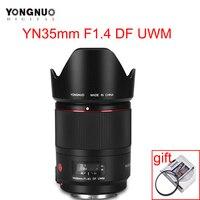 YONGNUO YN35mm F1.4C DF UWM Camera Lens AF MF 35mm F1.4 Ultrasonic Wave Motor Wide Angle Prime Lens for Canon 70D 7D 6D 5D 70D