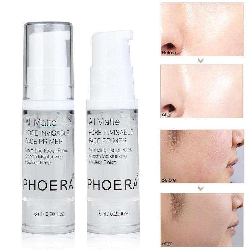 Long Lasting Transparent Cream Oil Control Moisturizing Isolated Lotion Makeup Pore Perfect Primer Milk Foundation TSLM1