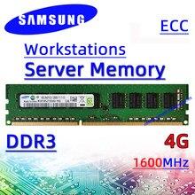 Samsung ddr3 4G 1600MHz Server Workstation Speicher ECC RAM PC3 12800U 8G