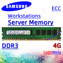 Samsung ddr3 4GB 1333MHz 1600MHz Server Workstation Memory ECC RAM PC3 12800E 8G 10600E