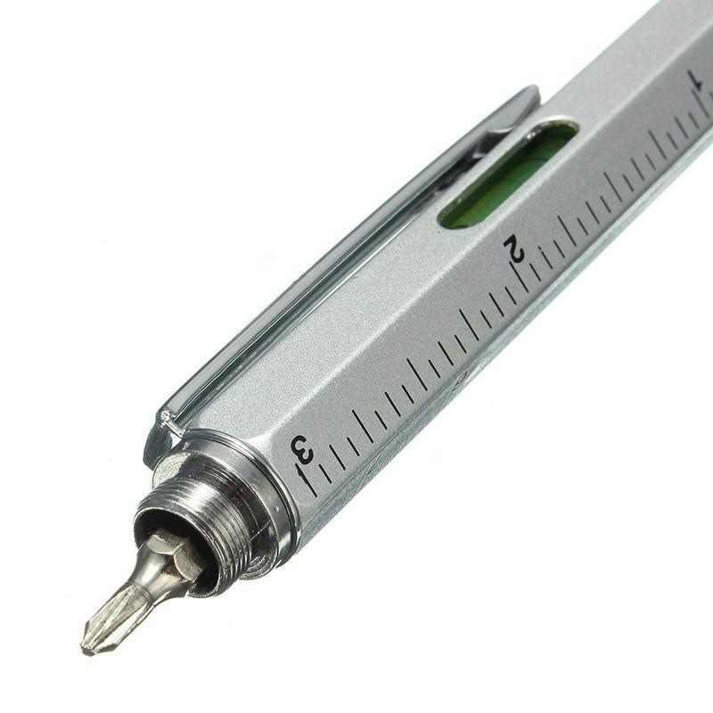 6 в 1 Многофункциональный инструмент отвертка шариковая ручка экран сенсорная емкость телефон почерк шариковая ручка инструмент ручка sz