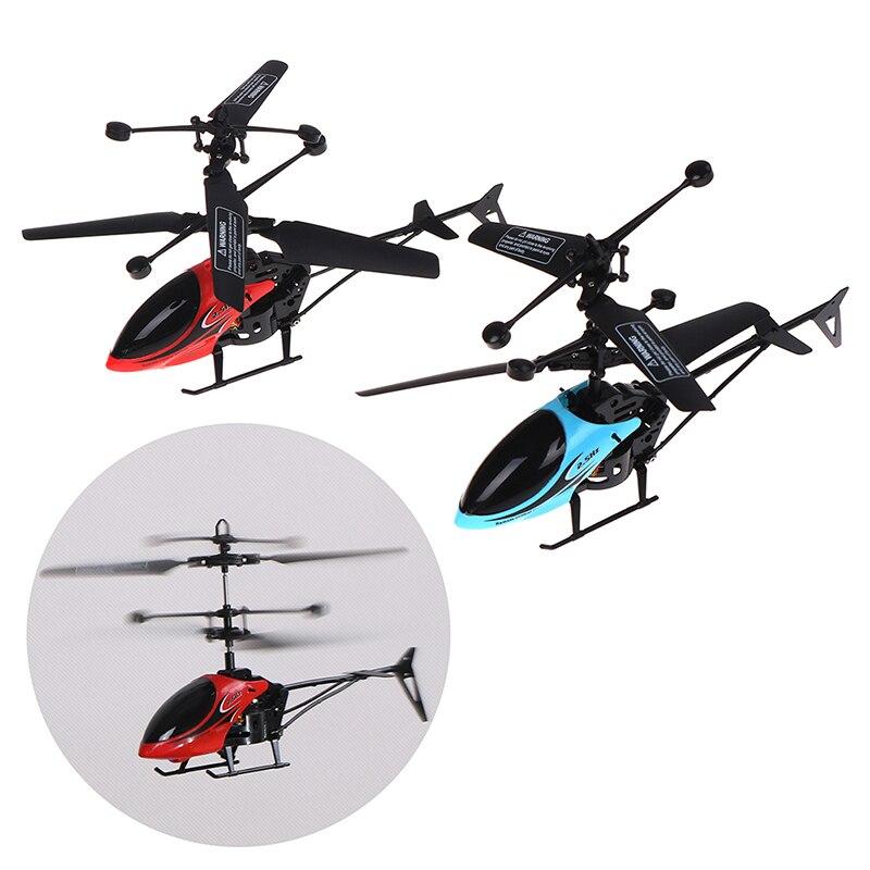 Oficial w25 rc helicóptero 2 ch 2 canal mini rc zangão com gyro acidente resistente rc brinquedos para o menino crianças presente vermelho amarelo