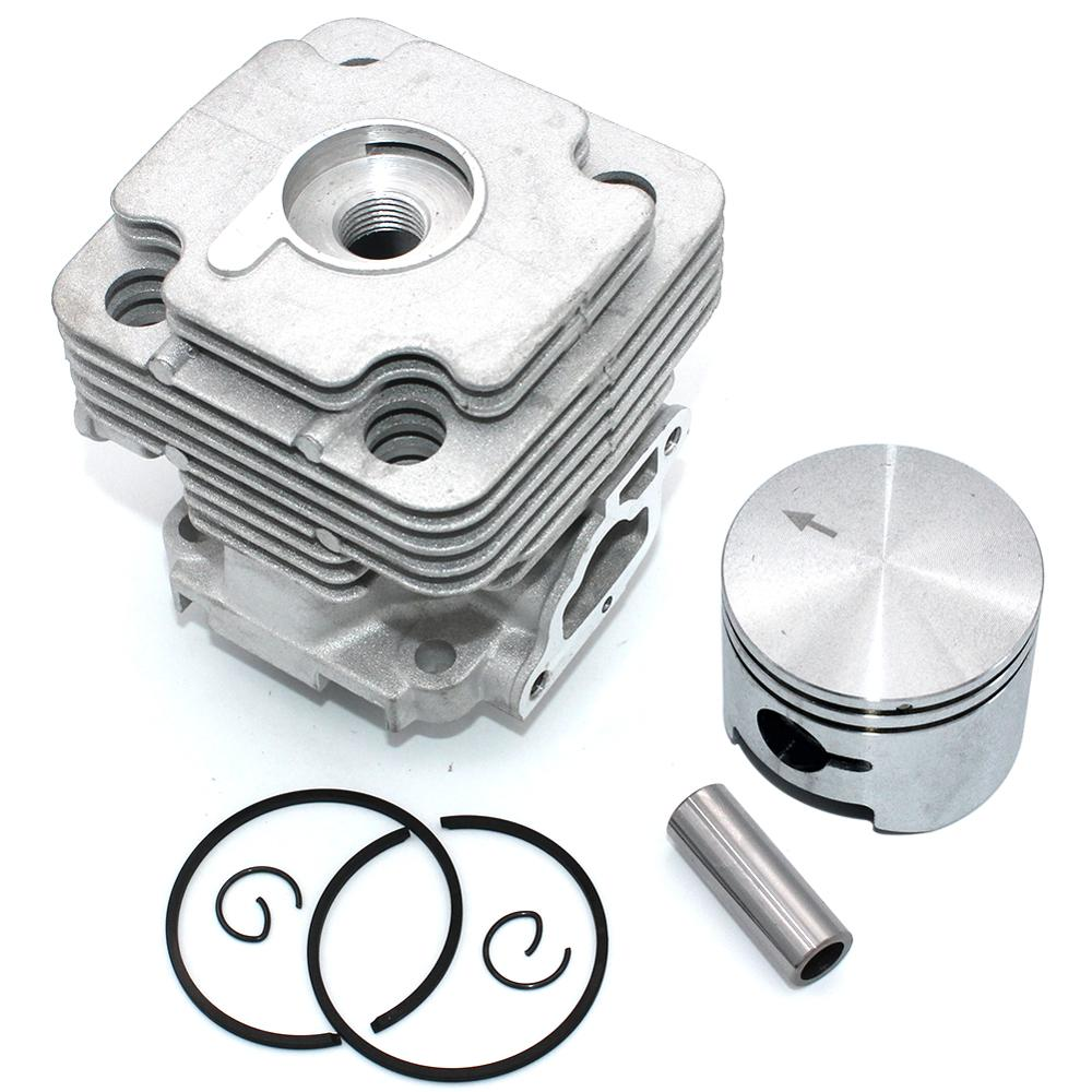 Cylinder Piston Kit 45mm For Oleo-Mac 453BP Ergo 753S 753T OS530 Ergo OS550 Ergo Efco 8530IC 8535 8535 Ergo 8550 Boss 8753BAV