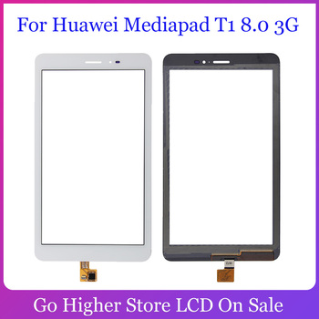 For Huawei Mediapad T1 8.0 3G S8-701u / Honor Pad T1 S8-701 Touch Screen Digitizer Touch Glass Panel Front Lens Sensor image