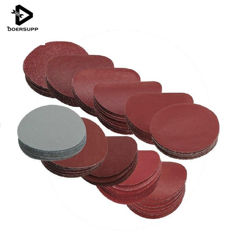 10Pcs/set 3 Inch Polishing Pad Sanding Discs Sandpaper For Sander Grits 80 120 240 400 600 800 1000 1200 1500 2000 3000 Grit