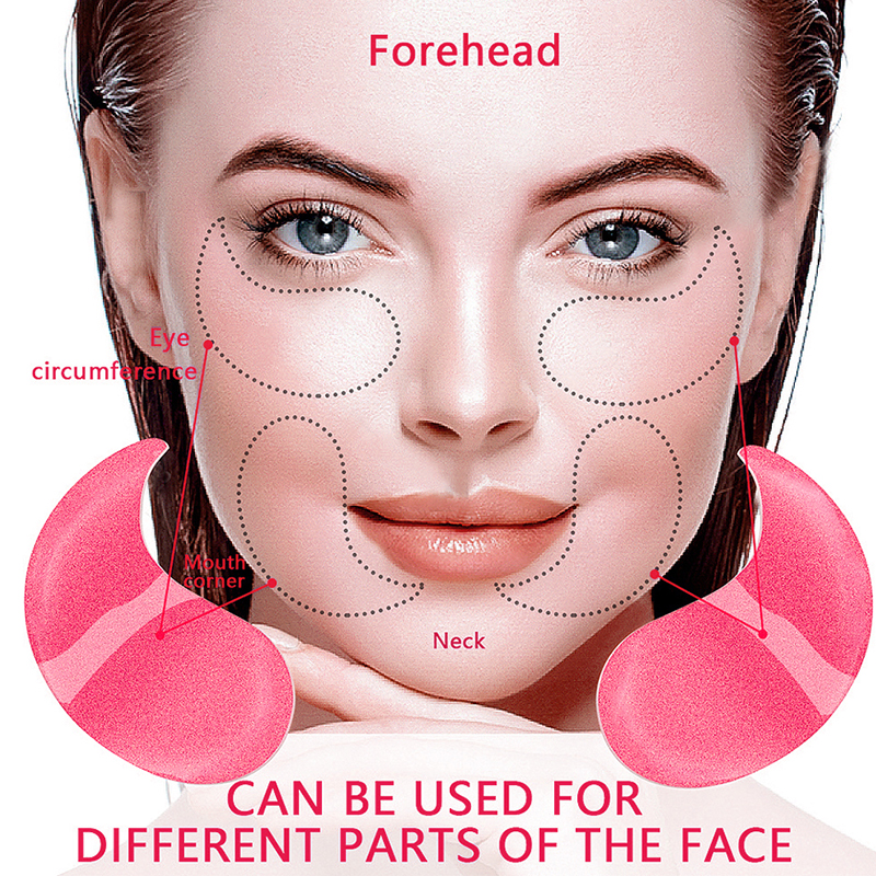 VIBRANT GLAMOUR Eye Mask Moisturizing Hyaluronic Acid Eye Patch Skin Care Collagen Anti Aging Gel Remove Dark Circles Eye Bag-1