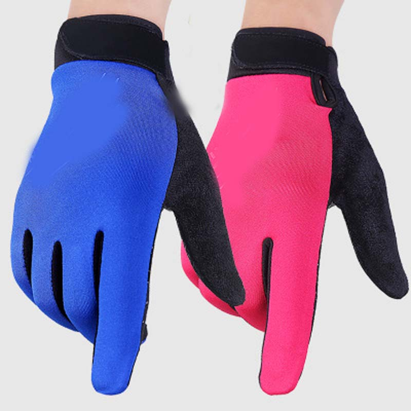 Winter Outdoor Men And Women Sports Touch Screen Warm Water-proof Riding Gloves