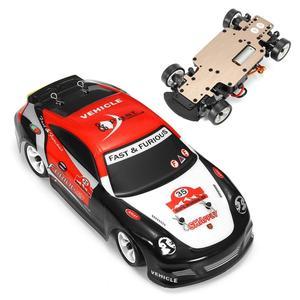 K969 1:28 2,4G 4WD, Радиоуправляемый автомобиль с начесом porsches, высокая скорость, ралли, дрифт, автомобиль, электронная игрушка для детей