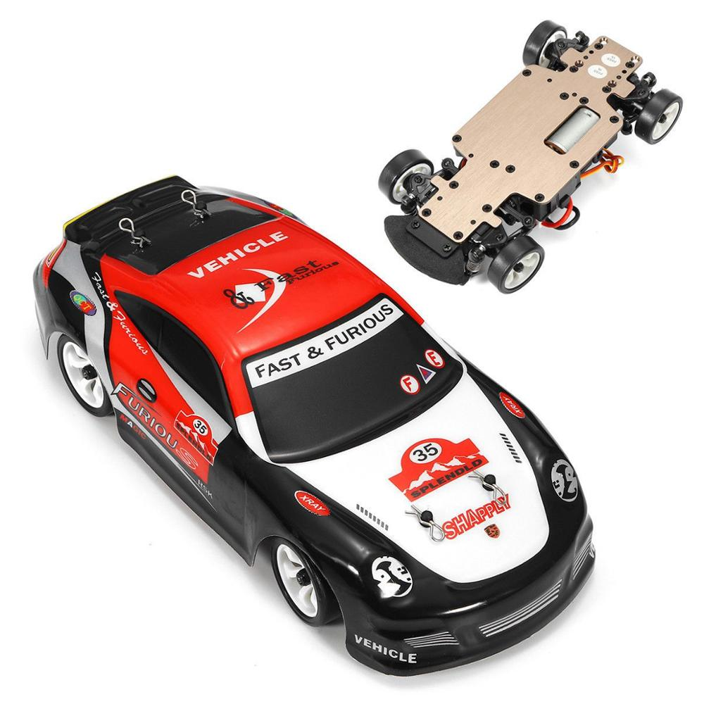 K969 1:28 2.4G 4WD Brushed porsches RC <font><b>Car</b></font> High Speed rally game Drift <font><b>Car</b></font> <font><b>electronic</b></font> Toy For <font><b>Kids</b></font> image