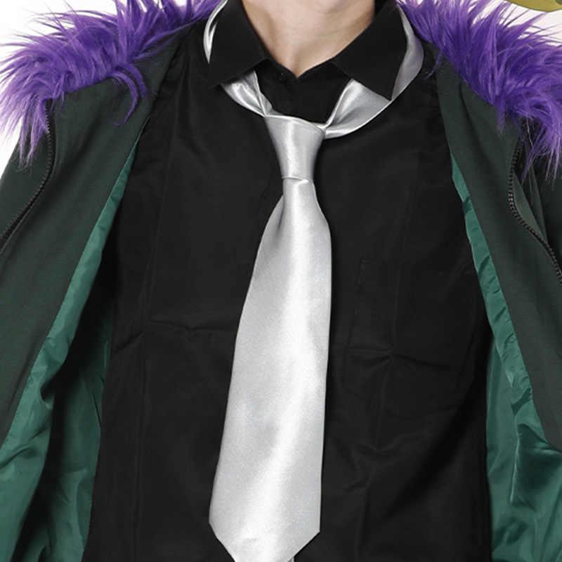 My Hero Academia Boku No Hero Akademia Kai Chisaki Revisione Costume Cosplay per Gli Uomini di Fantasia di Halloween Per Adulti Full Set Outfit custom