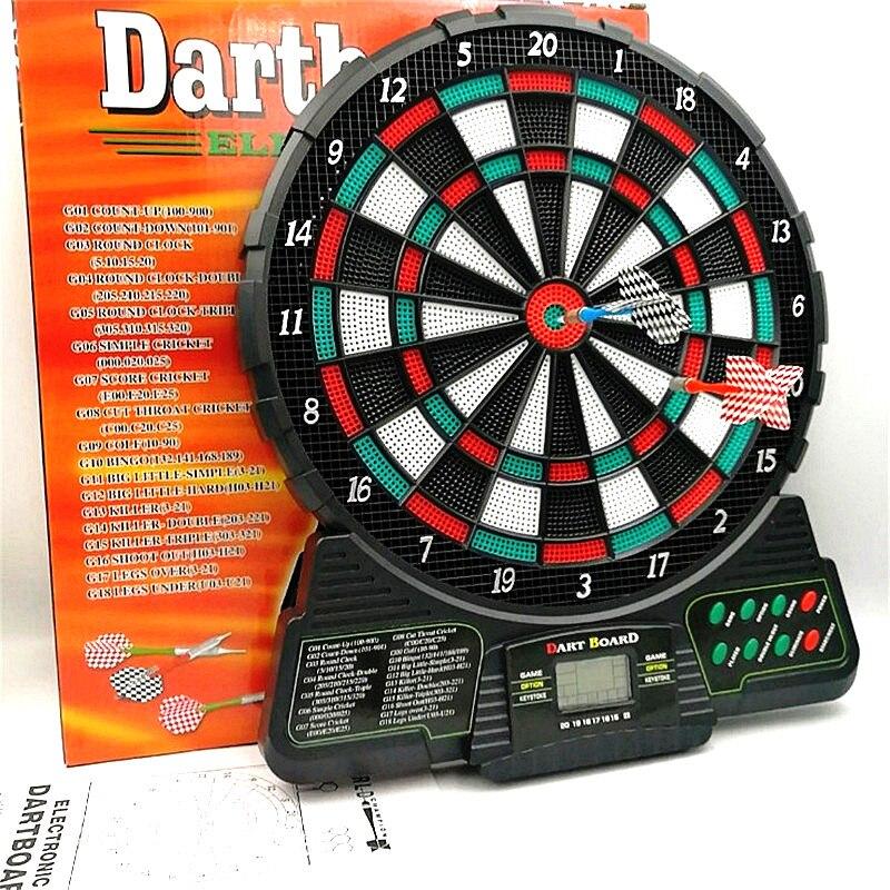 37x31cm pointage automatique tableau de fléchettes électronique affichage LCD Score Dart 18 Types de groupes de jeu 159 Types de Gameplay