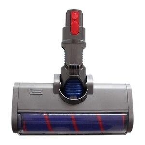 Cabeza de rodillo suave Absolute Fluffy cabeza de suelo eléctrica de liberación rápida para Dyson V7 V8 V10 V11 piezas de reparación de aspiradora