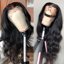 Brazilian Body Wave 360 Lace Frontal Human Hair Wigs PrePlucked For Black Women 180% Density Arabella Remy Hair Lace Front Wig