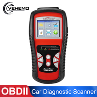 Vehemo KW830 OBD2 ODB2 Bluetooth Scanner for Car Diagnosis Universal Auto Fault Error Code Reader ODB2 Car Diagnostic Scanner